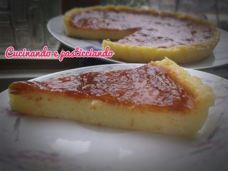 Torta budino e mascarpone