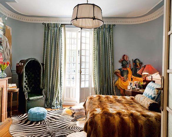 Богемный декор   , дизайн интерьера, дом, коттедж, декор ...