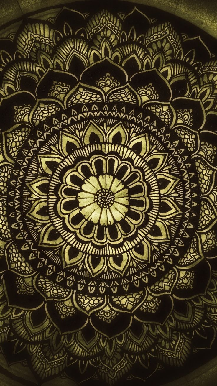 Mandala iPhone wallpaper  #mandala