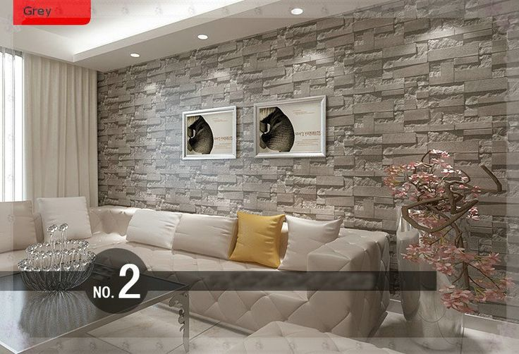 living room with brick wallpaper m 225 s de 25 ideas incre 237 bles sobre papel tapiz de piedra en 22953