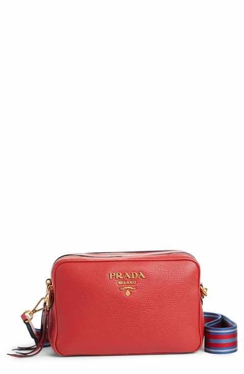 9f4dce9fc Prada Vitello Daino Leather Camera Bag | ___ are a girl's best ...