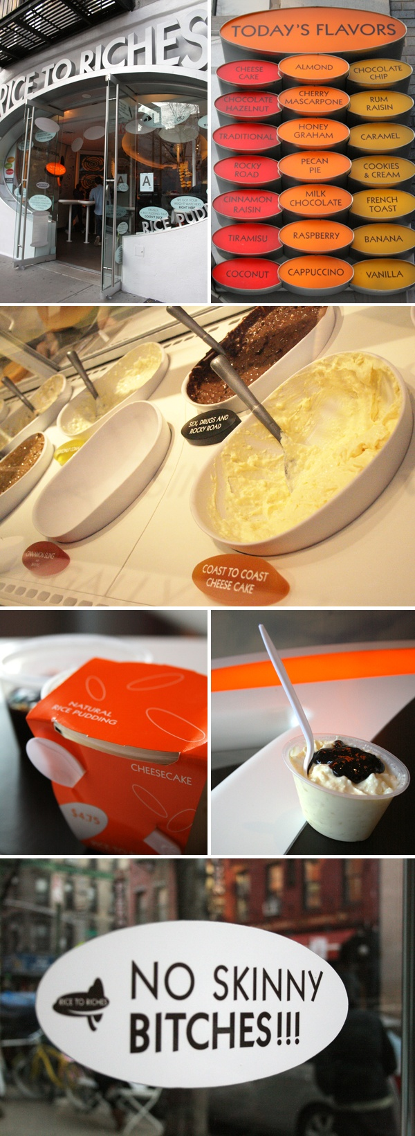 Rice To Riches | New York | Best Rice Pudding | At least 20 different flavors | Cute serving and storage container