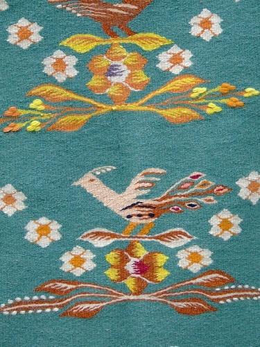 Romanian carpet detail
