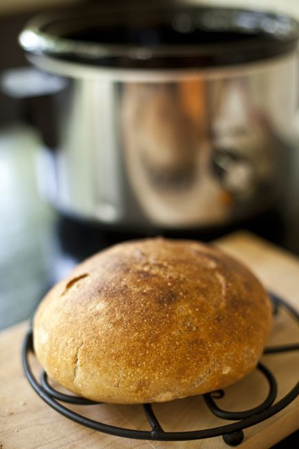 slow cooker bread    Fast Bread in a Slow Cooker