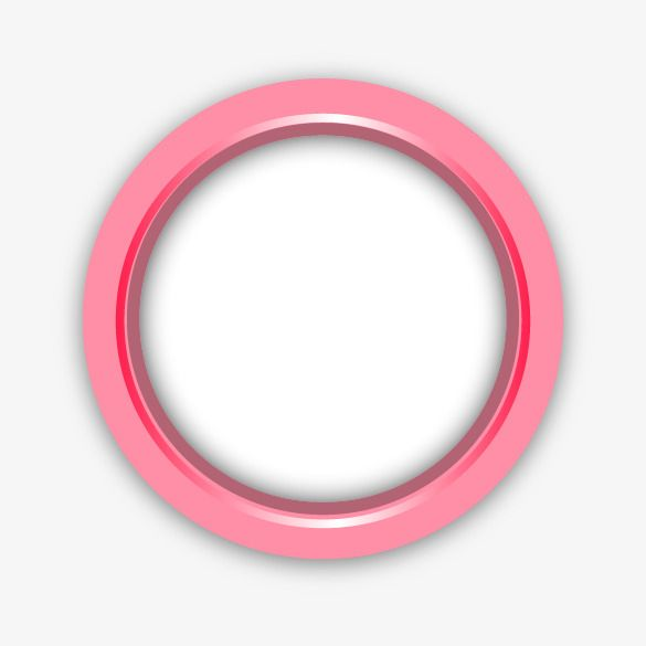 Ppt Element Pink Round Circle Png And Clipart Clip Art Circle Clipart Poster Design