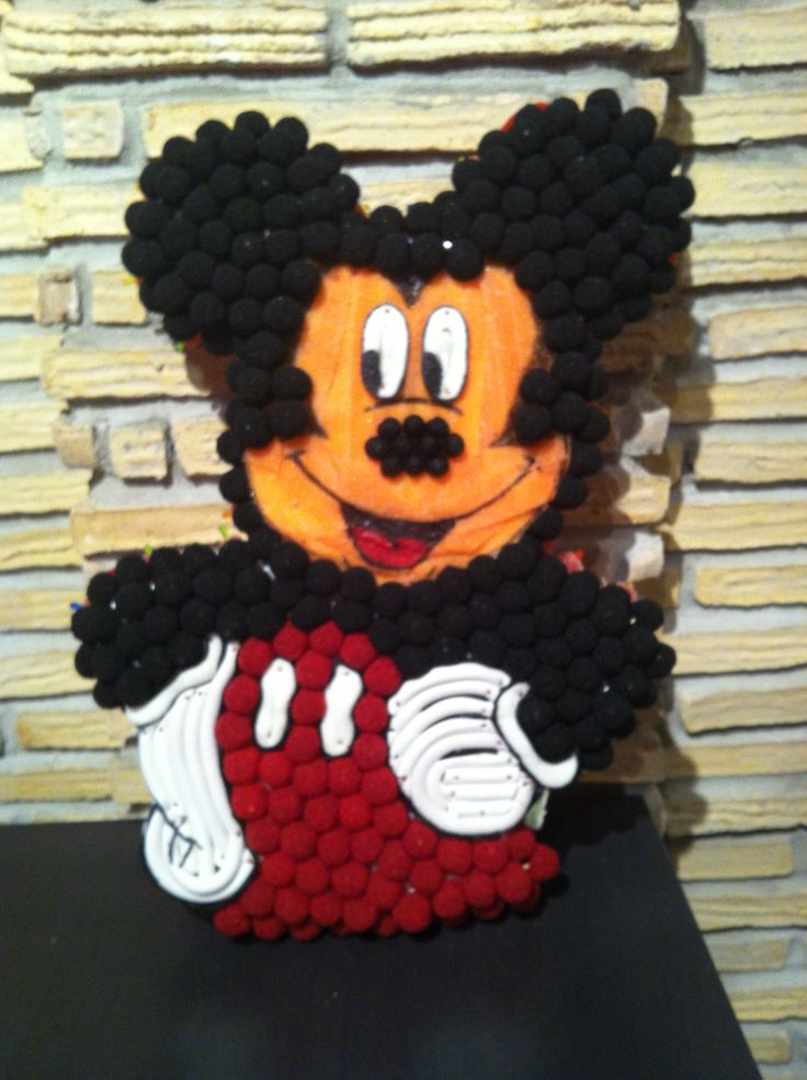 Tarta de chuches Mickey Mouse