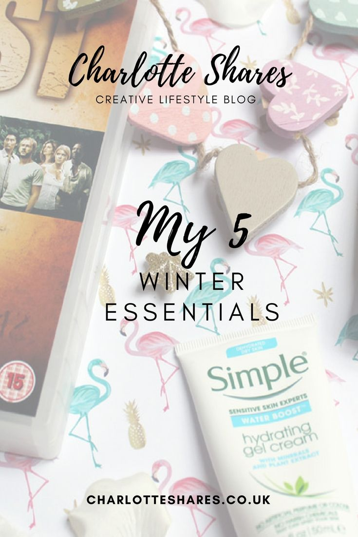 My 5 winter essentials to make you feel good