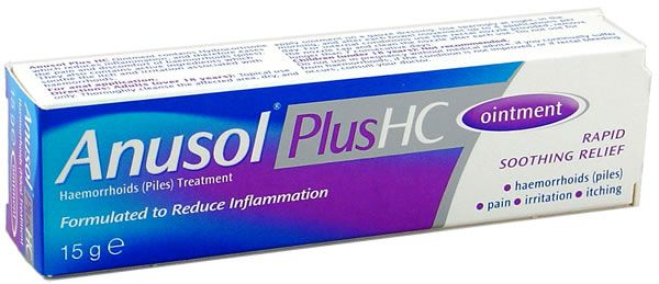 Anusol for anal fissure