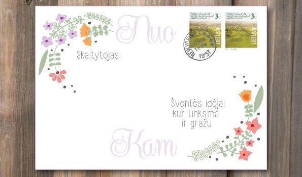 DIY personal design letter original envelope