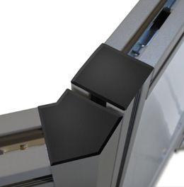 Angolazione a 135° fra pannelli MACRO ZIG ZAG