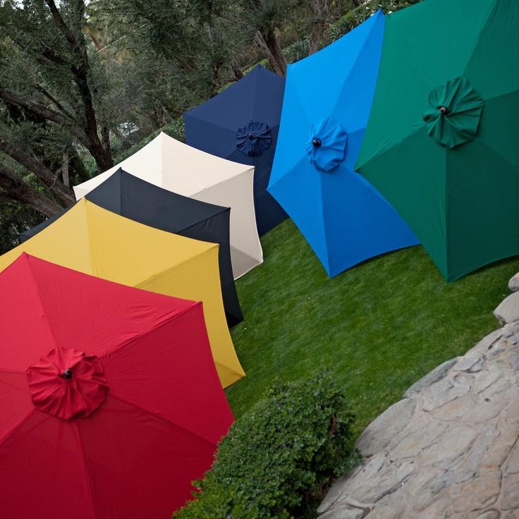 Have to have it. Key Largo 9-ft. Wood Market Umbrella $84.98