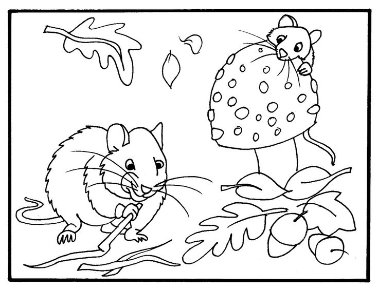 coloring pages fall themed - photo#2