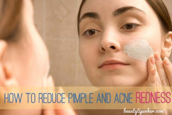 how to get rid of pimple scabs and redness overnight