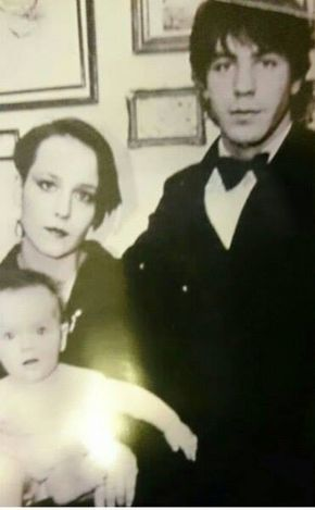 I wouldn't usually pin or share any pictures or information about bandmates private life, because i want to respect their rights and treat them as a humans which they are.. Unfortunately, many people don't seem to remember that.. Anyways, this is picture of Till with his first wife and Nele.