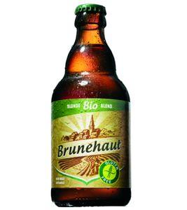 Brunehaut Bio Blonde - Bierebel.com, la référence des bières belges