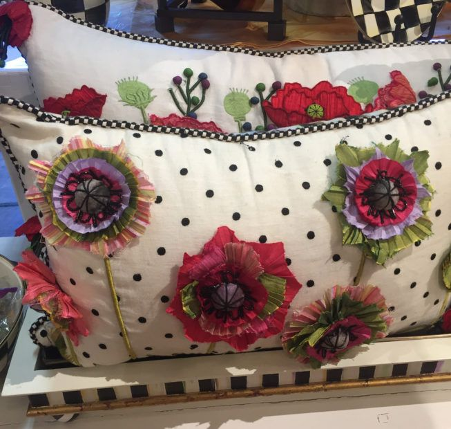 creative and colourful cushions