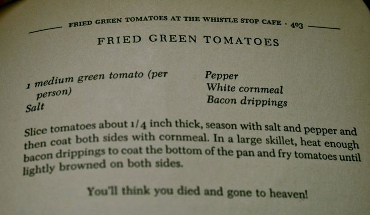 fried earth-friendly acidic tomatoes novel