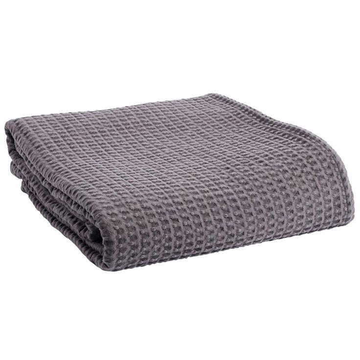 Comfort överkast dubbel, grå i gruppen Textil / Sängkläder / Överkast hos RUM21.se (1023437)