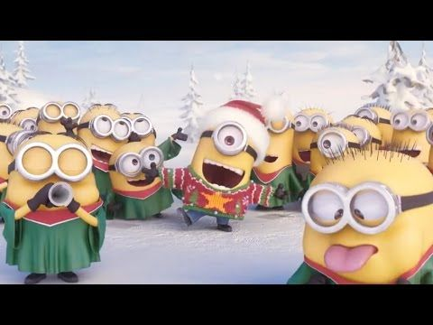 Minions Singing Jingle Bell - Merry Christmas! - YouTube