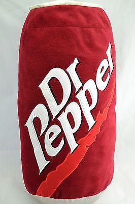 "Decorative Pillow Dr Pepper Can Design 24"" Tall Polyester Fiber Filled | eBay"