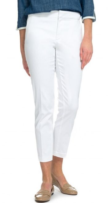 MORZ1599 Corynna Ankle Pant - White