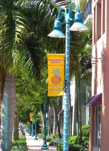 Lovely downtown street in Delray Beach, Florida. http://pinterest.com/complcoastal/coastal-destinations/