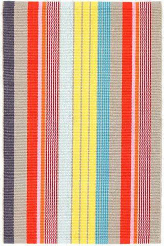 Lyric Stripe Cotton Rug - Complete Pad ®