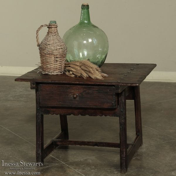 Country Antique Furniture | Antique Occasional Tables U0026 End Tables | 19th  Century Rustic Country French