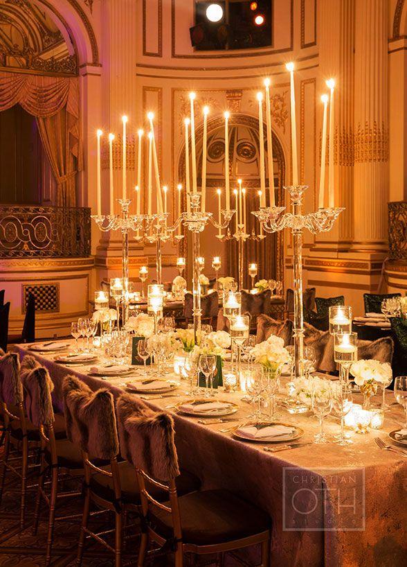 Evening wedding reception table decorations : Best formal wedding reception ideas on