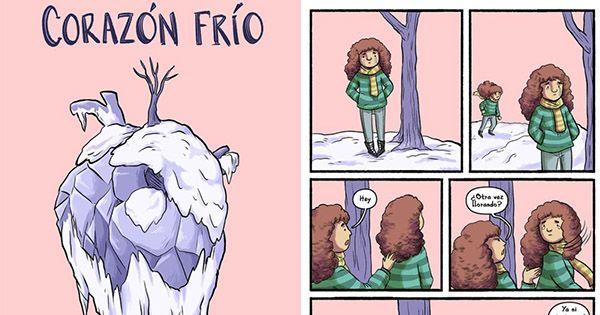 Corazón frío no necesariamente es persona fría