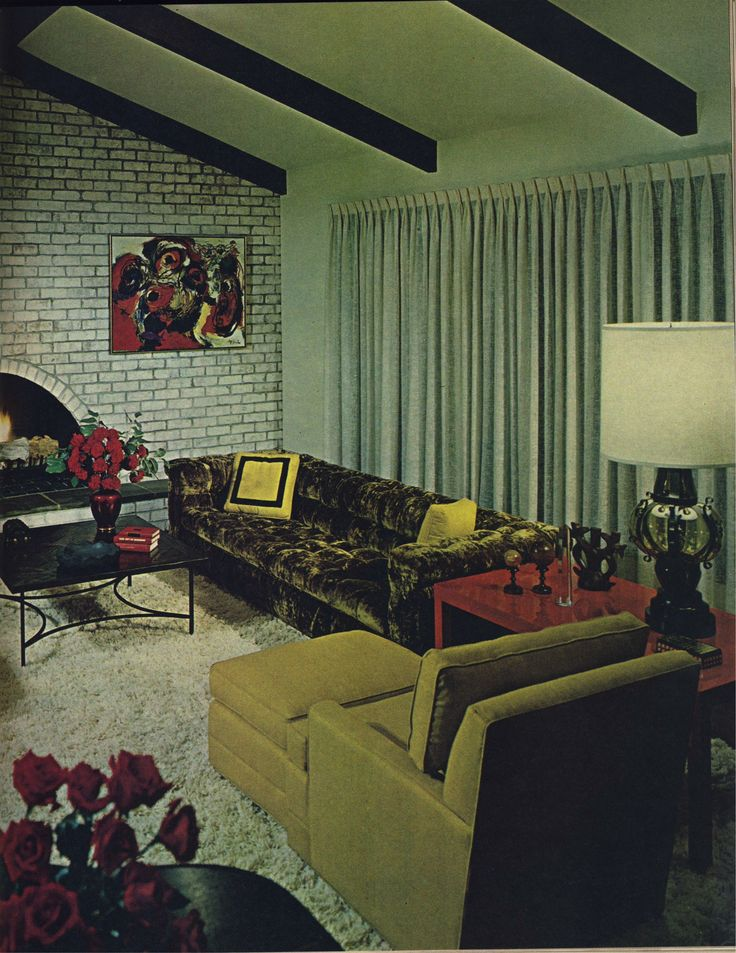 1970s looks sooooo much like our living room