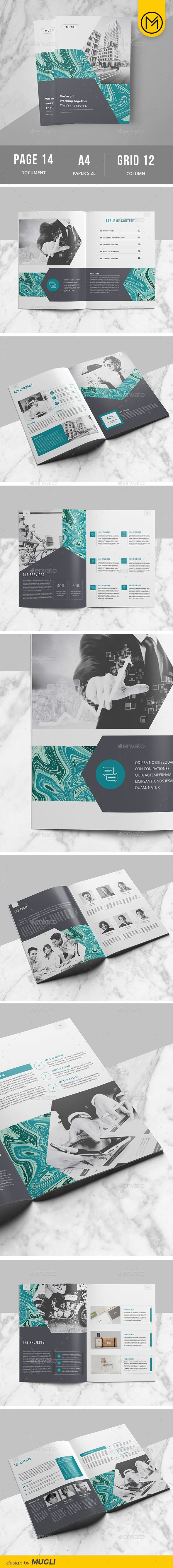 Brochure — Vector EPS #professional #annual report • Download ➝ https://graphicriver.net/item/brochure/19486784?ref=pxcr