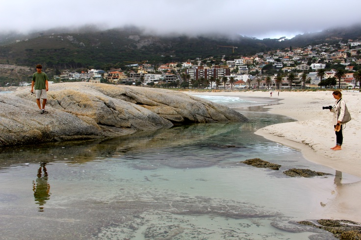 Photograph I took while in Cape Town, South Africa.  #reflection #beach #photography  --Kacy Summers kacysummers@gmail.com