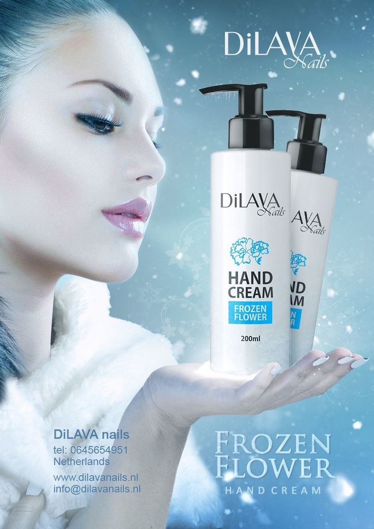 Frozen Flower Hand Cream