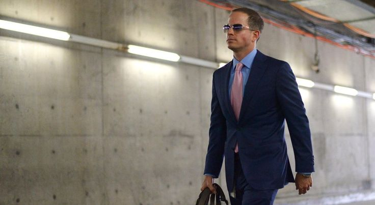 Chargers president of football operations John Spanos arrives before his team's game against the Pittsburgh Steelers last month at Qualcomm Stadium. (Jake Roth-USA TODAY Sports)