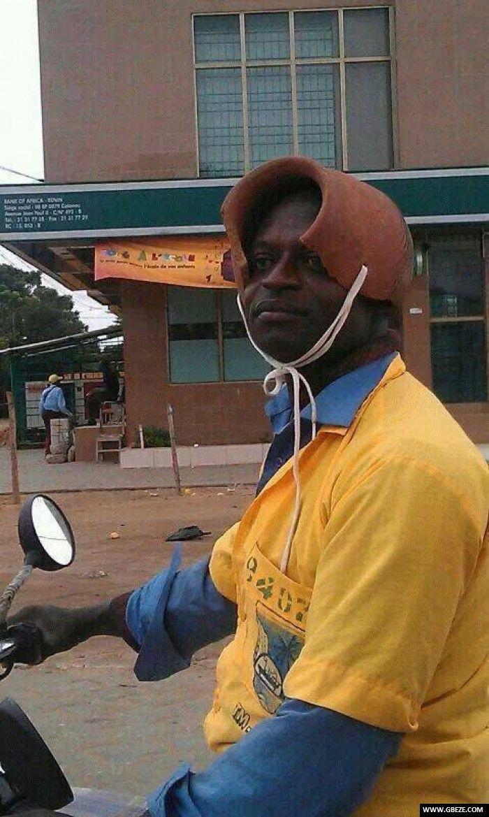 Les casques du Benin