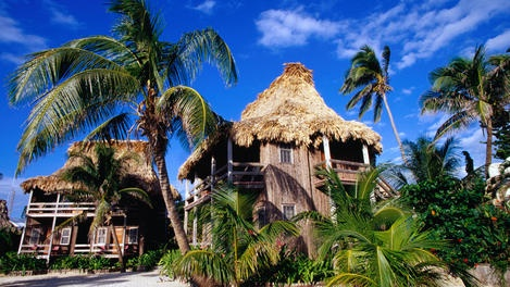Ambergris Cave, Ambergris Caye & San Pedro is a beautiful island off the coast of Belize.