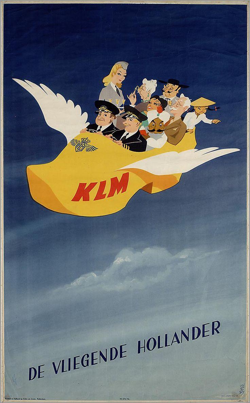 KLM - De vliegende Hollander, Paul Erkelens, 1947-1948