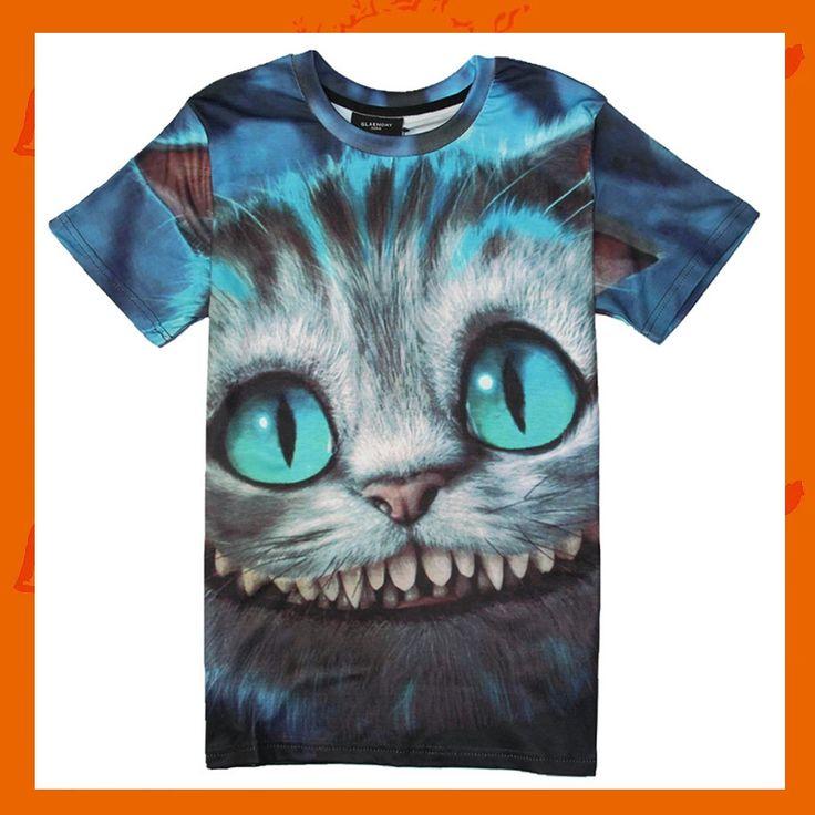 ホット!最安!激安!Tシャツ 3DアニマルTシャツ 動物Tシャツ 半袖Tシャツ おもしろTシャツ デザインTシャツ[0]