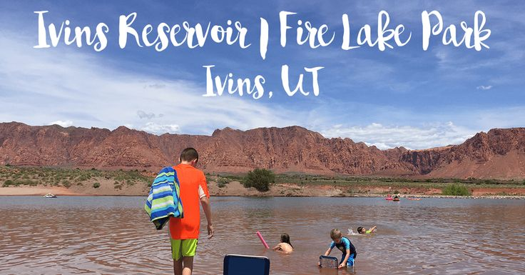 Ivins Reservoir is just past the Kayenta Community on Hwy 91. A free family outing with lots of sand and clean water. Only 20 minutes outside of St. George, UT.