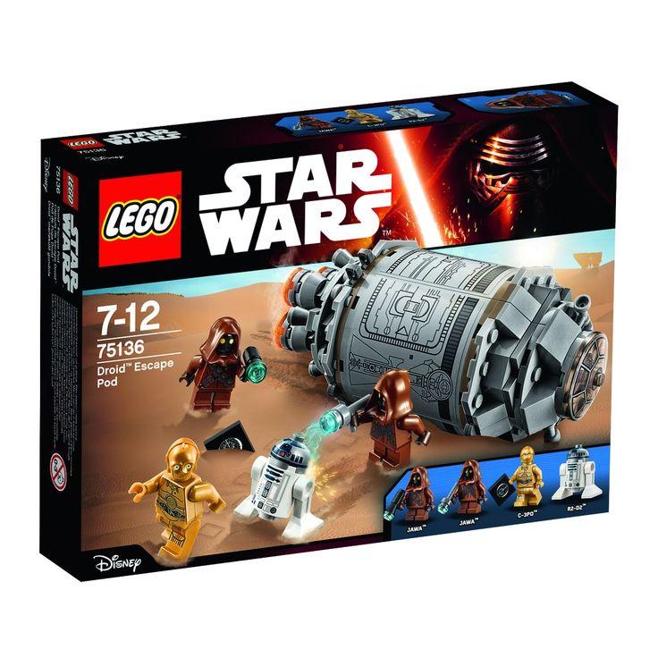 75136 LEGO Star Wars Droid flugtkapsel