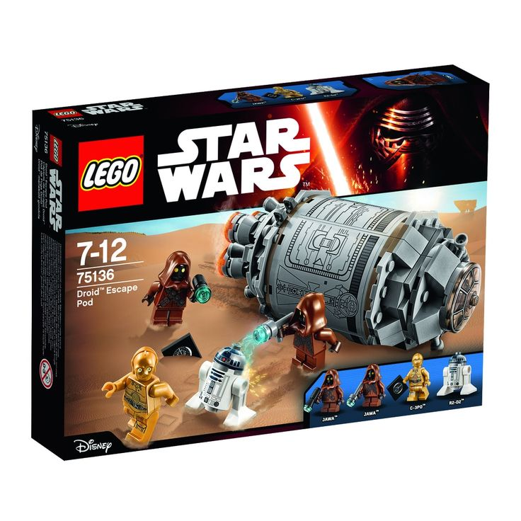 75136 LEGO Star Wars Droid flugtkapsel