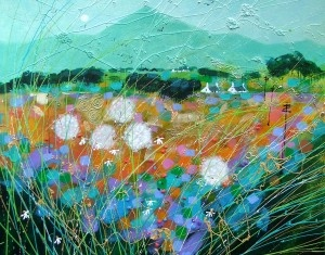 Breezy Harvest by the contemporary artist Deborah Phillips available to buy online at The Leith Gallery, Edinburgh, Scotland