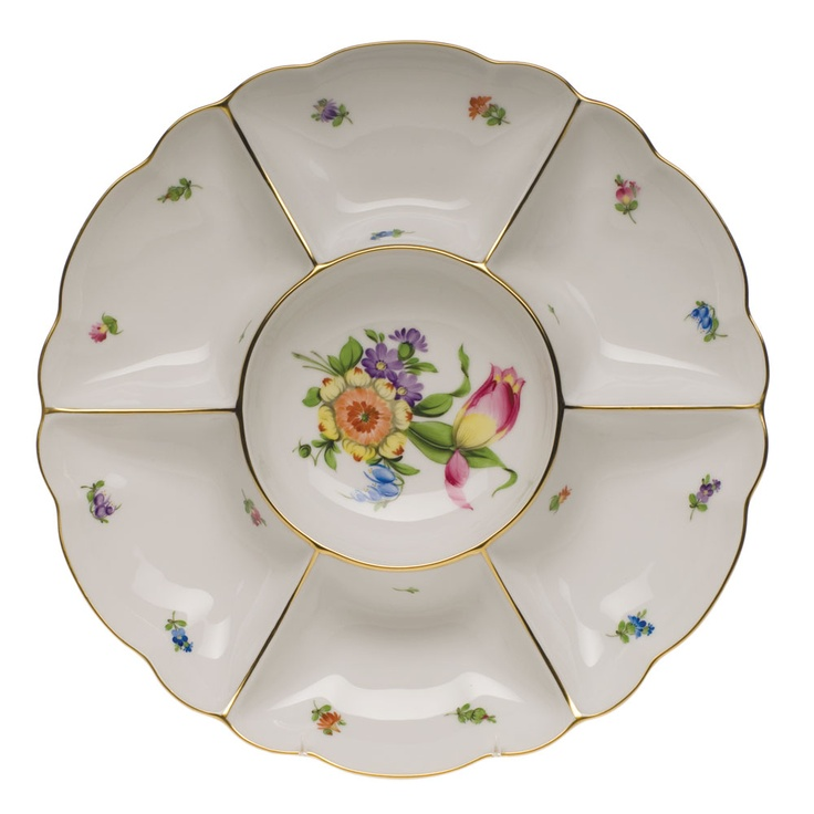 Herend, Pocalein manufacture, Sectioned Appetizer Dish