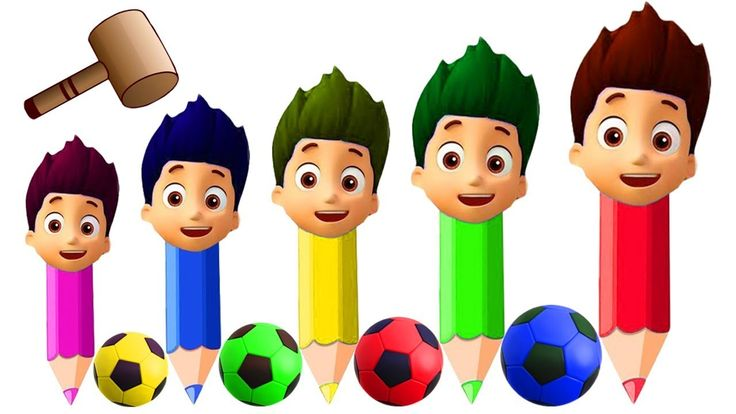Colors for Children to Learn Paw Patrol Ryder Pencil Soccer Balls Wooden Face Xylophone Hammer Toys Colors for Children to Learn Paw Patrol Ryder Pencil Soccer Balls Wooden Face Xylophone Hammer Toys https://youtu.be/8w7jhR_zN7Q #ColorsForChildren to Learn #PawPatrol #Ryder #Pencil #SoccerBalls #WoodenFace #Xylophone #Hammer #Toys  Finger Family Song Lyrics : Daddy finger daddy finger where are you? Here I am here I am. How do you do? Mommy finger Mommy finger where are you? Here I am here I…