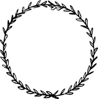 free digital and printable circle doodle tags and digi stamp – Etiketten Clipart – freebie | MeinLilaPark – digital freebies
