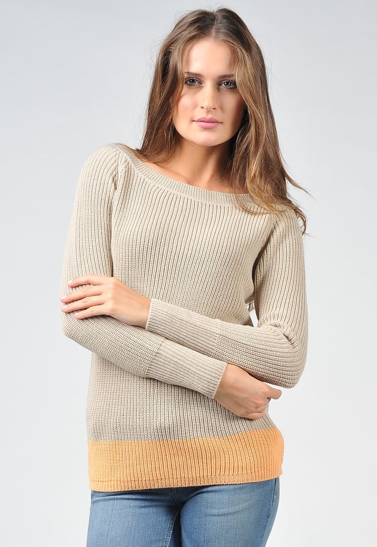 Vero Moda  Grapy Greige Sweater  48,90 лв. 11,90 лв.Sweaters 48 90, Orange Sweaters, Sweaters 4890, Greige Sweaters
