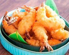 Crevettes panées à la noix de coco simples
