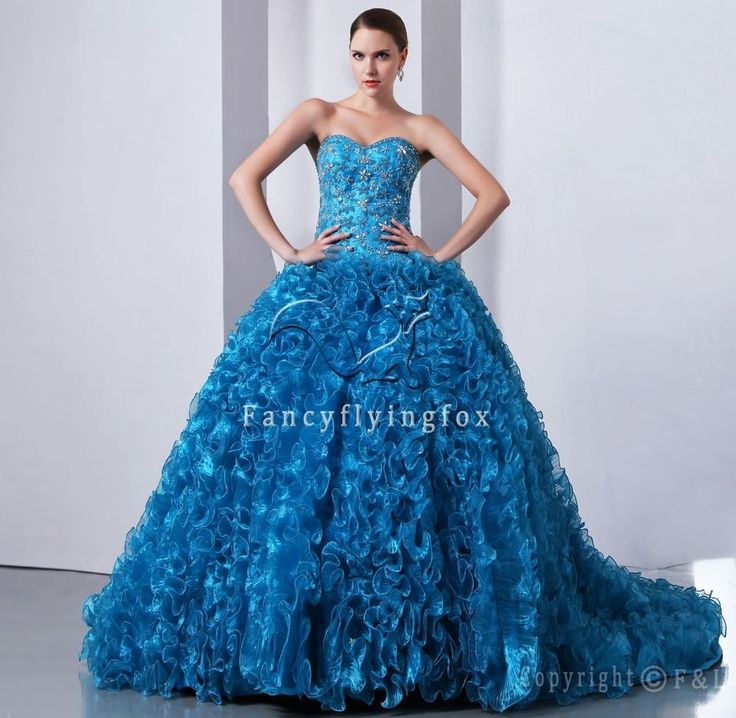 Newest Design ! Modern Ball Gown Ruffled Sweetheart quinceanera dress IMG-8077