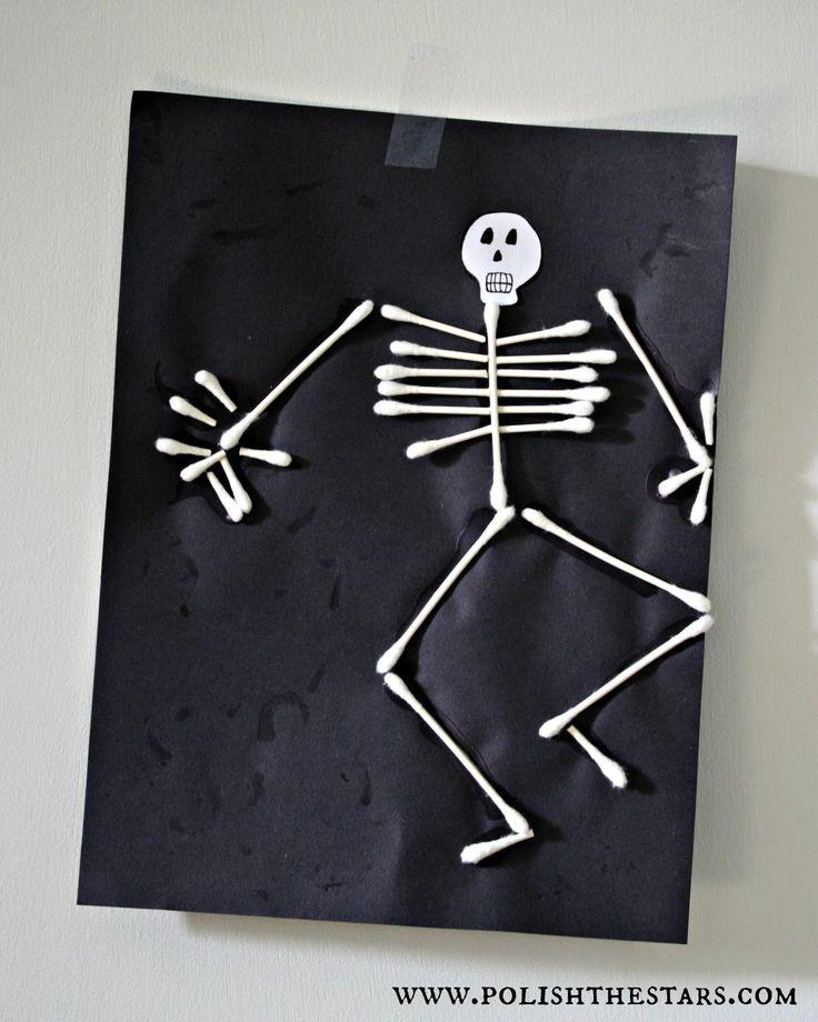 Q-Tip Skeleton  polishthestars.com